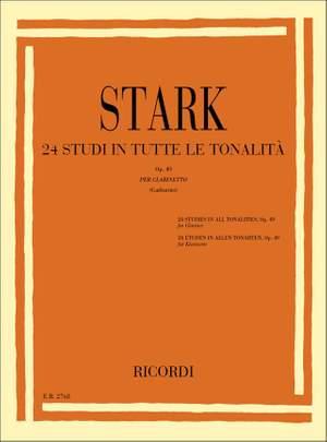 Stark: 24 Studi in tutte le Tonalità Op.49