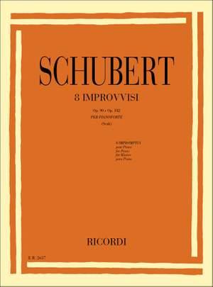 Schubert: Impromptus Op.90 & Op.posth.142