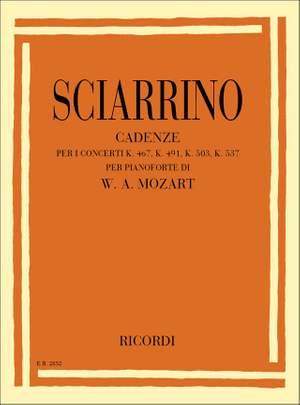 Sciarrino: Cadenzas for Mozart Concertos