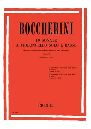 Boccherini: Sonatas Vol.2: G10 - G19