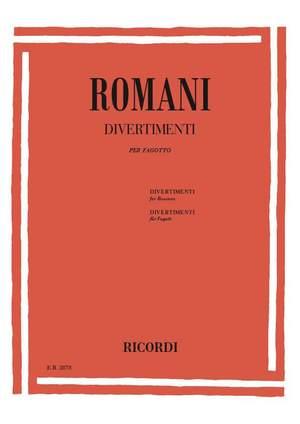 Romani: Divertimenti