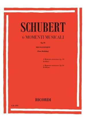 Schubert: Momenti musicali Op.94 (D780)