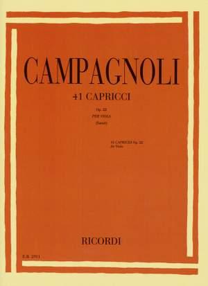 Campagnoli: Caprices Op.22