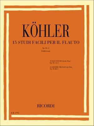 Köhler: Studies Op.33, Vol.1 (ed. R.Fabbriciani)