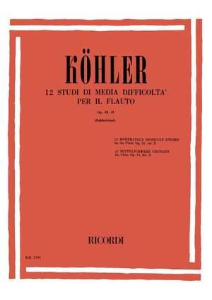 Ernesto Köhler: Studi Op. 33 - Vol II