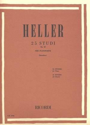 Heller: 25 Studi Op.45