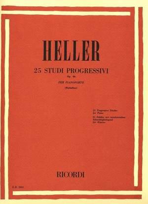 Heller: 25 Studi progressivi Op.46