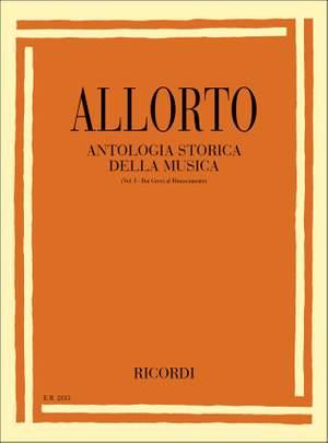 Allorto: Antologia storica della Musica Vol.1
