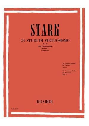 Stark: 24 Studi di Virtuosismo Op.51, Vol.1