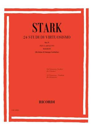 Stark: 24 Studi di Virtuosismo Op.51, Vol.2