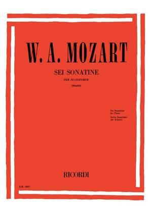 Mozart: 6 Sonatinas