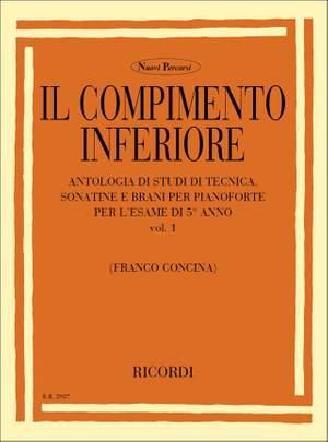 Concina: The Piano Vol.1: Il Compimento inferiore Product Image
