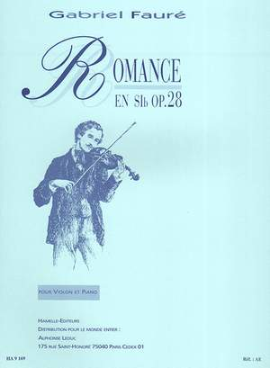 Gabriel Fauré: Romance For Violin And Piano In E Flat Op.28
