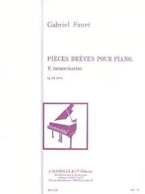 Gabriel Fauré: Improvisation Op.84, No.5
