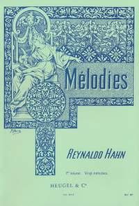 Reynaldo Hahn: Mélodies Vol 1 - 20 Melodies Voix Moyenne Et Piano