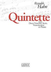 Reynaldo Hahn: Quintet For 2 Violins, Viola, Cello And Piano