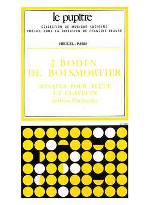 Joseph Bodin de Boismortier: Sonates pour Flûte et Clavecin Op.91