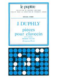 Jacques Duphly: Harpsichord Pieces - Volume 1
