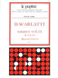 Domenico Scarlatti: Sonates Volume 3 K104 a K155