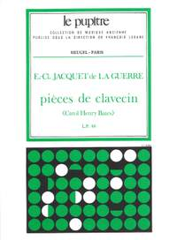 Jacquet de la Guerre: Pieces de clavecin