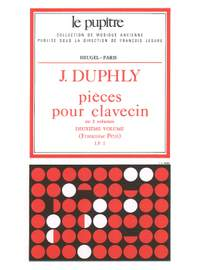 Jacques Duphly: Harpsichord Pieces - Volume 2