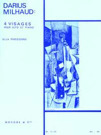 Darius Milhaud: Quatre Visages Op.238 No.4 - La Parisienne