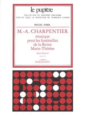 Marc-Antoine Charpentier: Musique pour les Funérailles -LP73