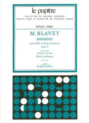 Michel Blavet: Sonates pour flutes et continuo op 2 volume 1