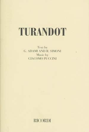 Puccini: Turandot (English Libretto)
