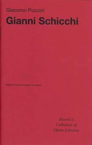 Puccini: Gianni Schicchi (Italian Libretto)
