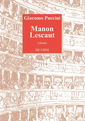 Puccini: Manon Lescaut (Italian text)