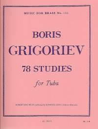 B. Grigoriev: 78 Studies