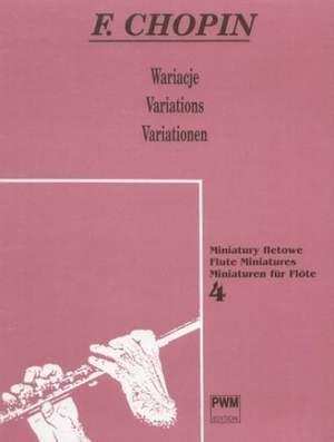 Chopin, F: Variationen