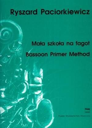 Paciorkiewicz, R: Bassoon Primer Method
