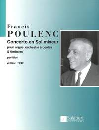 Poulenc: Concerto in G minor