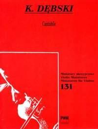 Debski: Cantabile Vln/pft