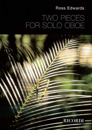 Edwards: 2 Pieces for solo Oboe
