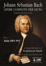 Bach, J S: Complete Works for Lute. Baroque Lute version  BWV 995 Vol. 1