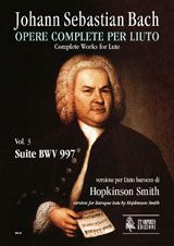 Bach, J S: Complete Works for Lute. Baroque Lute version  BWV 997 Vol. 3
