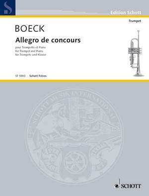 Boeck, A d: Allegro de concours