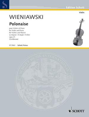 Wieniawski, H: Polonaise A major op. 21