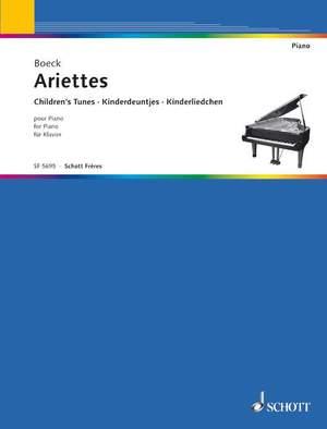 Boeck, A d: Ariettes 1/6