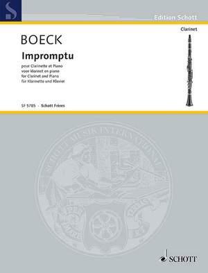 Boeck, A d: Impromptu