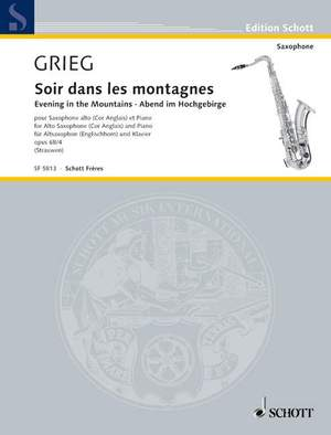 Grieg, E: Evening in the Mountains op. 68/4