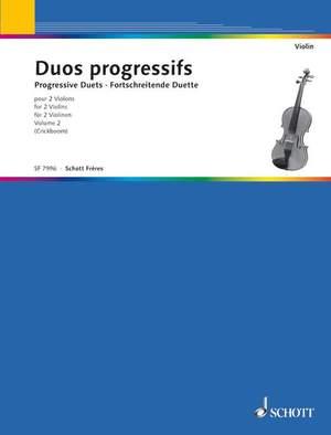 Duos progressifs Band 2 Product Image
