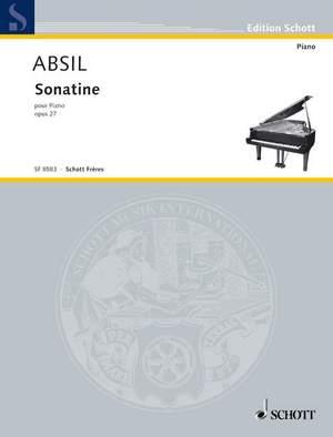 Absil, J: Sonatine op. 27