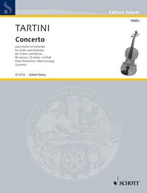 Tartini, G: Concerto D minor Product Image