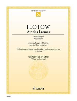 Flotow, F v: Air des Larmes