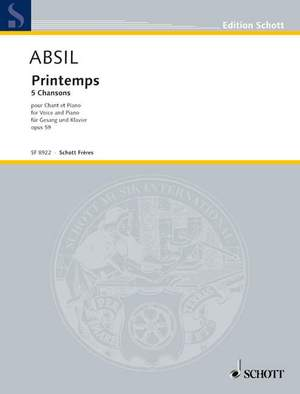 Absil, J: Printemps op. 59