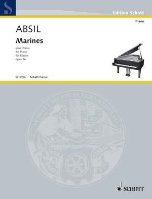 Absil, J: Marines op. 36